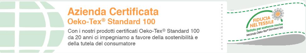 Certificato Oeko Tex